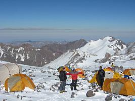Hochlager Aconcagua